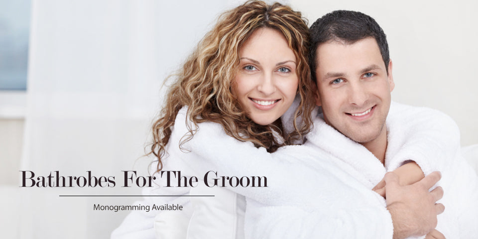 Bathrobes For The Groom