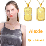 Collier Signe Astrologique Lion ALEXIE - Zodiasq