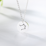 Collier Signe Astrologique Balance Constellation PAULINE - Zodiasq