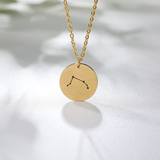 Collier Signe Astrologique Bélier Constellation PAULINE - Zodiasq