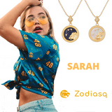 Collier Signe Astrologique Scorpion SARAH - Zodiasq
