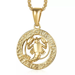 Collier Signe Astrologique Cancer TEMPLE - Zodiasq