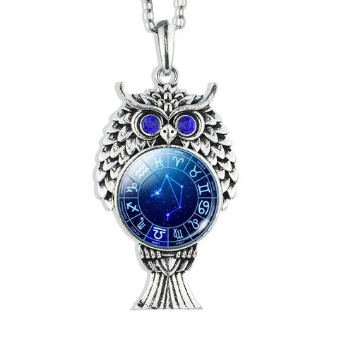 Collier Signe Astrologique Balance Constellation LYVIA - Zodiasq