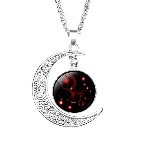 Collier Lunaire Signe Astrologique Cancer Constellation ADELE