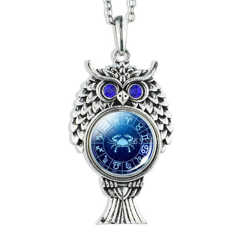 Collier Signe Astrologique Cancer RACHEL - Zodiasq
