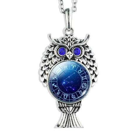 Collier Signe Astrologique Verseau Constellation LYVIA - Zodiasq