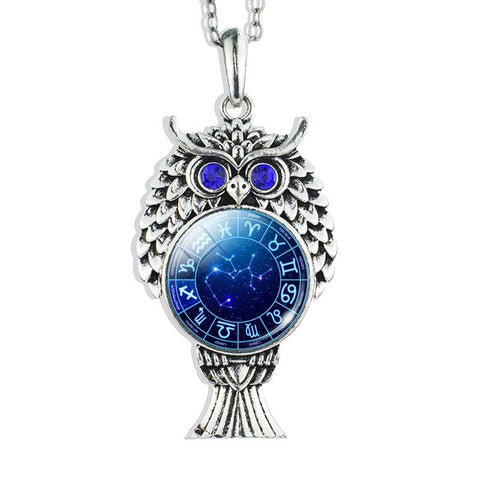 Collier Signe Astrologique Sagittaire Constellation LYVIA - Zodiasq