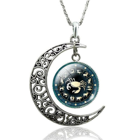 Collier Signe Astrologique Cancer ALYSSIA - Zodiasq