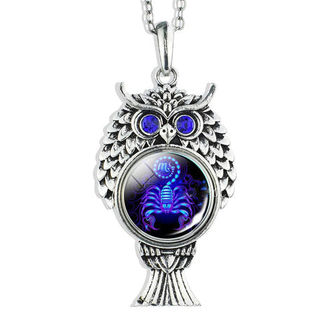 Collier Signe Astrologique Scorpion ROXANE - Zodiasq