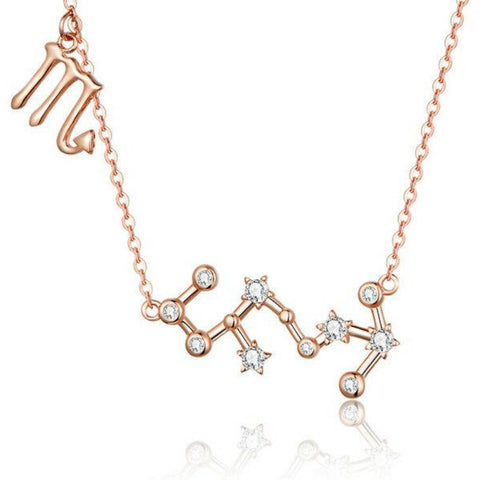 Collier Signe Astrologique Scorpion | Constellation Maria