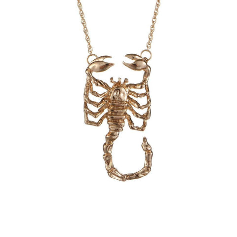Collier Signe Astrologique Scorpion LANA - Zodiasq