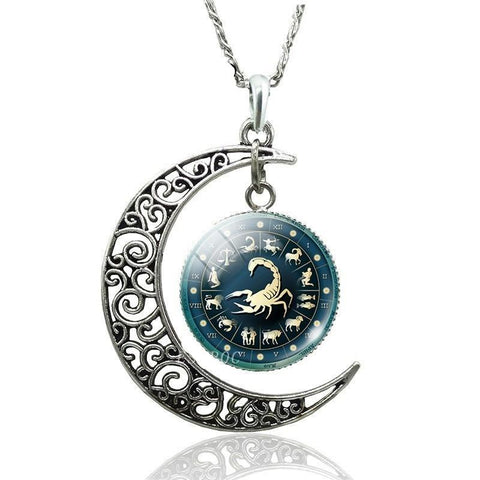 Collier Signe Astrologique Scorpion ALYSSIA - Zodiasq