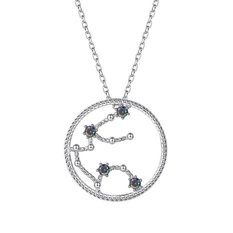 Collier Signe Astrologique Verseau Constellation ELENA - Zodiasq