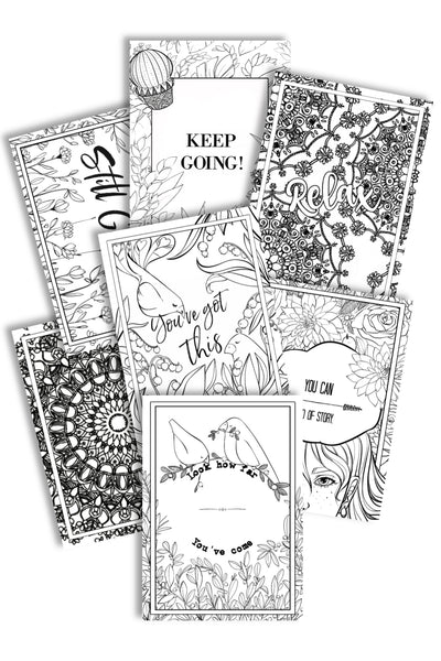 Uplifting Coloring Pages