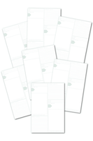White Jade Memo Pages