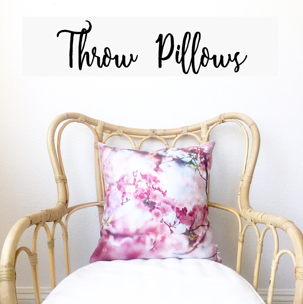 PILLOW CASES & THROWS