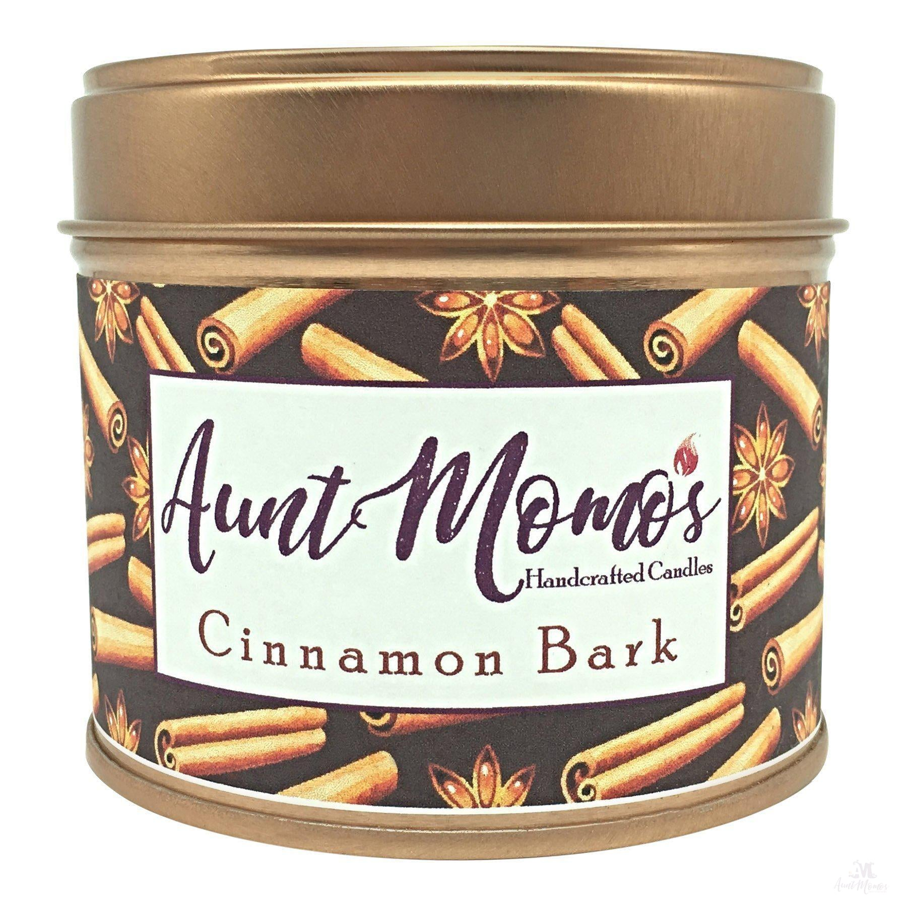 Cinnamon Bark Scented Container Candle-Scented Container Candle-Aunt Momo's Handcrafted Candles