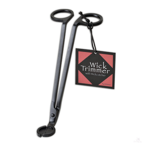 Matte Black Wick Trimmer-Candle Accessories-Aunt Momo's Handcrafted Candles