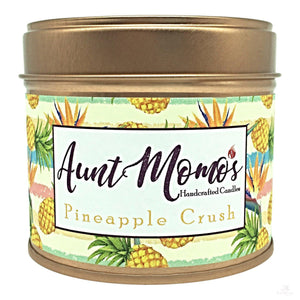 Pineapple Crush Scented Container Candle-Scented Container Candle-Aunt Momo's Handcrafted Candles