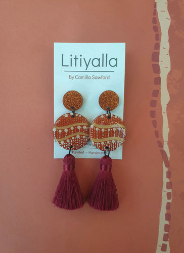 Half Way Home Tassel Dangle