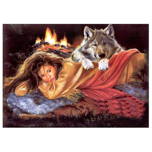 Beauty and Wolf