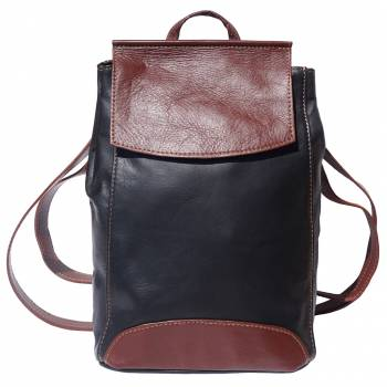 Lock Me Backpack Soft Leather
