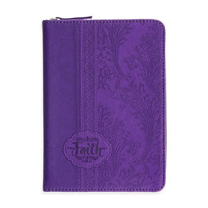 Zippered Scripture Journal - Faith