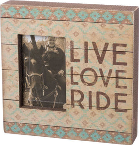 Box Frame - Live Love Ride
