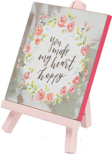 Easel - Heart Happy