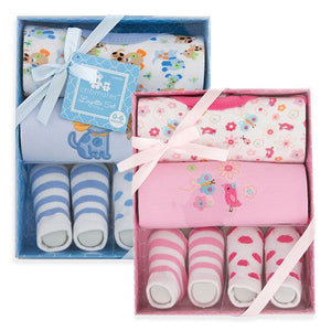 4-Piece Layette Set - Boy and Girl