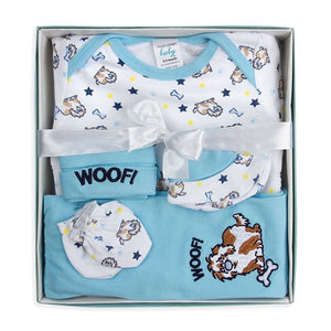 5-Piece Baby Boy Box Set - Woof
