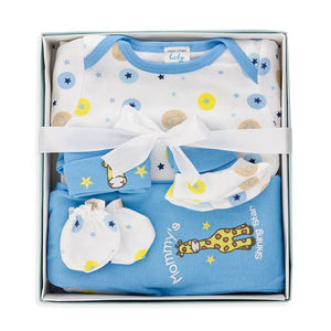 5-Piece Baby Boy Box Set - Giraffe