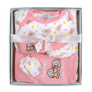 5-Piece Baby Girl Box Set - Lamb