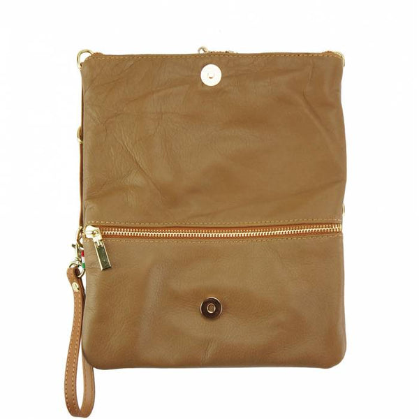 Giorgia GM Leather Clutch - Stock