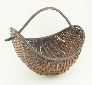 Boat Shaped Basket with Handle