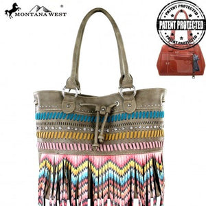 Fringe Concealed Carry Collection Tote Bag