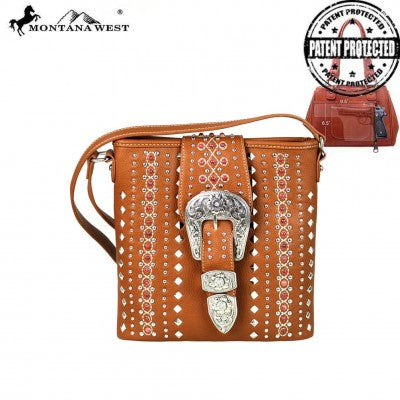 Buckle Collection Concealed Carry Crossbody Bag