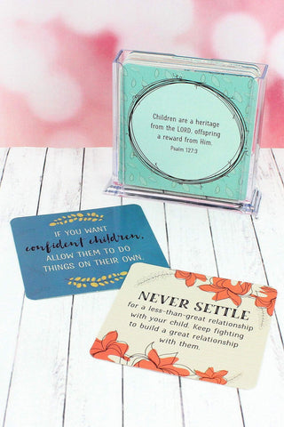 52 Tips on Motherhood Cards with Stand