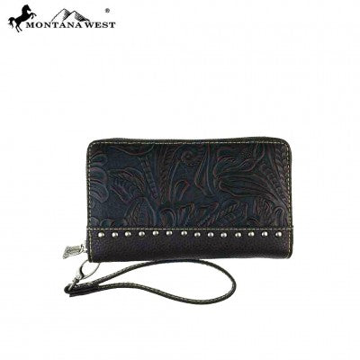Trinty Ranch Tooled Designed Wallet