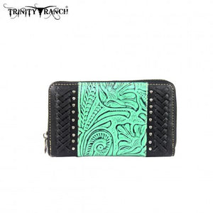 Trinity Ranch Tooled Designed Wallet
