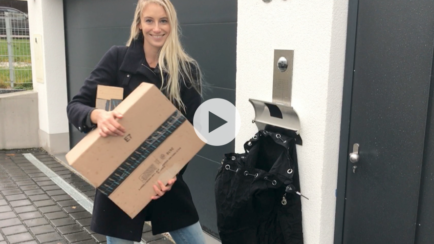 Paketsafe Paketbox Video