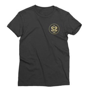 SS Women's Pocket Print Tee