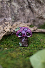 Grape Mish w/ Labradorite Eyes & Amethyst #79