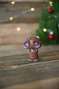 Gingerbread Mish w/ Amethyst Eyes & Citrine #107