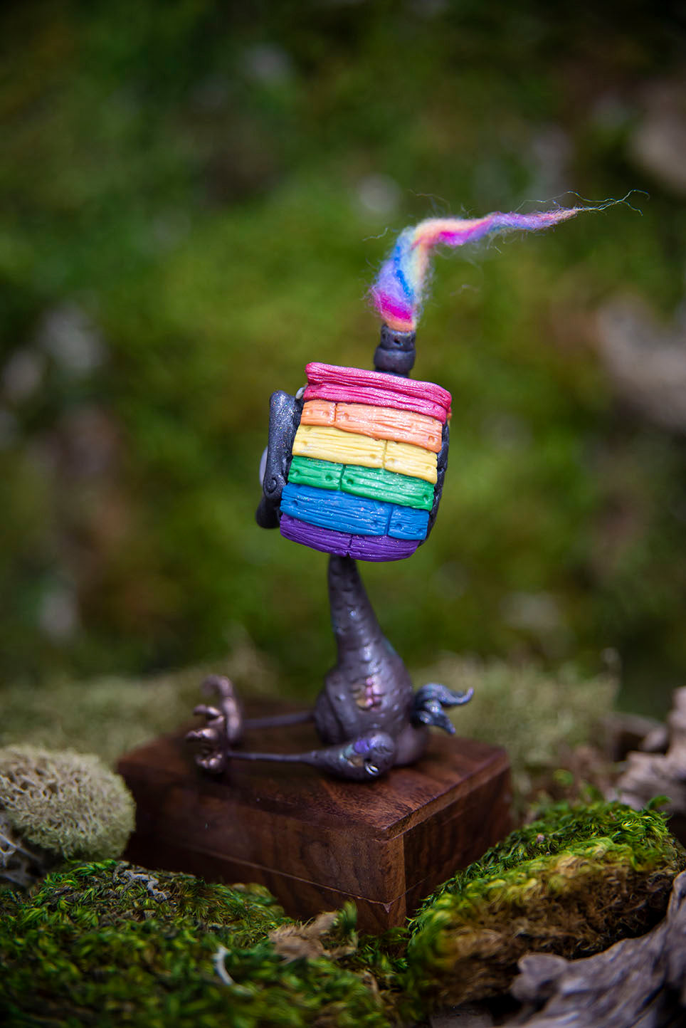 """Pride"" Baba Yaga House (Posable) #212"