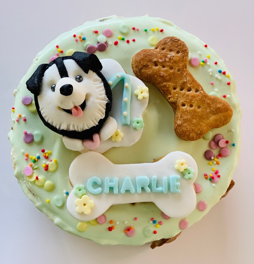 Artisan Dog Celebration/Birthday Cake (Sponge Cake)