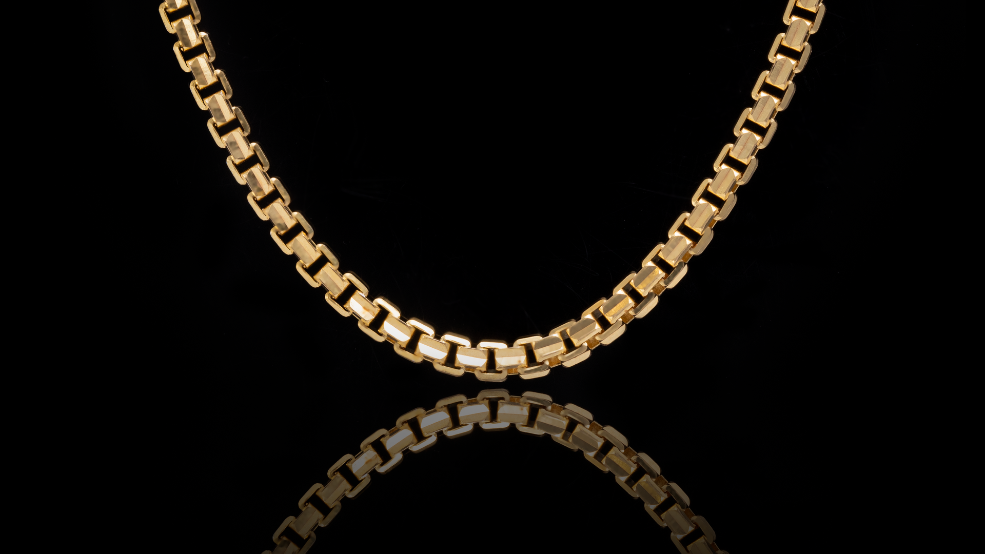 10k Yellow Gold Ashor Link Chain