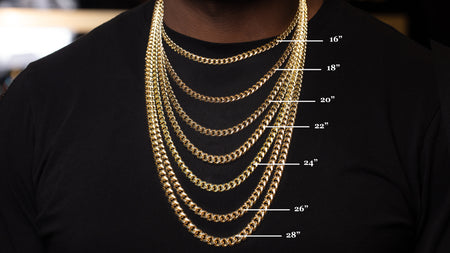 10k Yellow Gold Leo Link Chain
