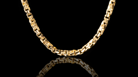 10k Yellow Gold Day Link Chain