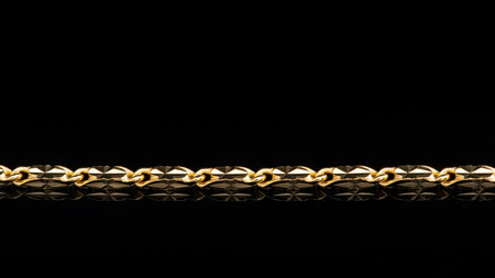 10K Yellow Gold Butterfly Link Bracelet